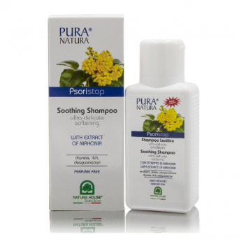 PSORISTOP SHAMPOO - SOOTHING & DELICATE ICH RELIEF PSORIASIS TREATMENT