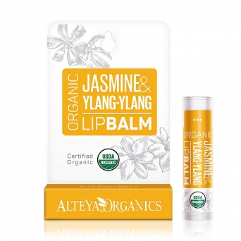 ORGANIC LIP BALM - JASMINE AND YLANG YLANG