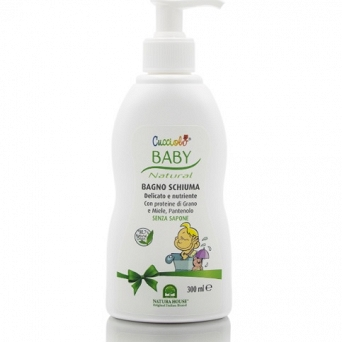 BABY BUBBLE BATH - DELICATE SOAP FREE