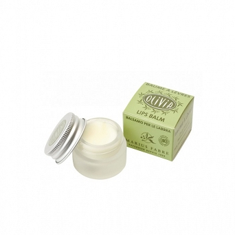 ORGANIC LIP BALM - OLIVE OIL & SHEA BUTTER & CITRUS ESSENTIAL OIL