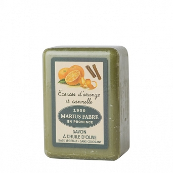 MARSEILLE OLIVE OIL SOAP - ORANGE AND CINNAMON