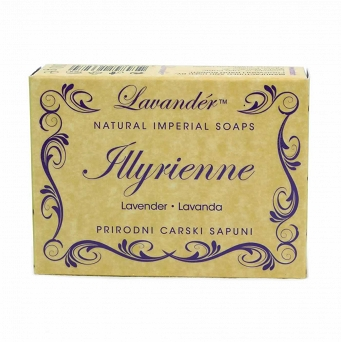 100% NATURAL SOAP - ILLYRIENNE - LAVENDER