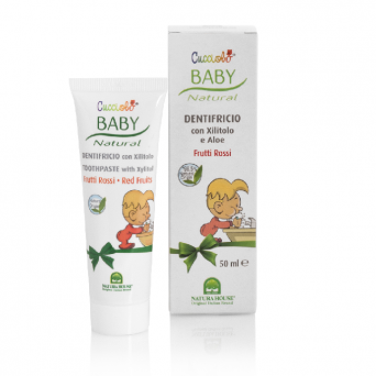 BABY'S FIRST NATURAL TOOTHPASTE - RED FRUITS