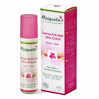 ULTRA SENSITIVE FACE CREAM - ROSA MOSQUETA / CHILEAN ROSE HIP