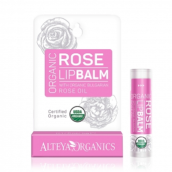 ORGANIC LIP BALM - BULGARIAN ROSE