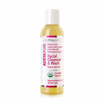 FACIAL CLEANSER AND WASH - ROSE AND JASMINE