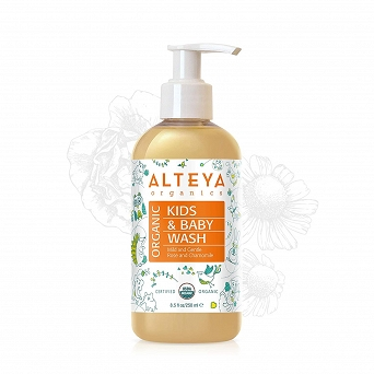 ORGANIC BABY WASH HAIR AND BODY - MILD AND GENTLE