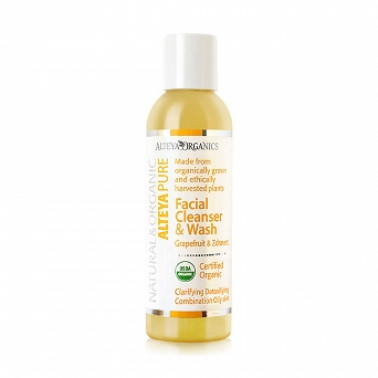 FACIAL CLEANSER AND WASH - GRAPEFRUIT AND ZDRAVETZ